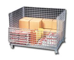 Wire Mesh Pallet Container